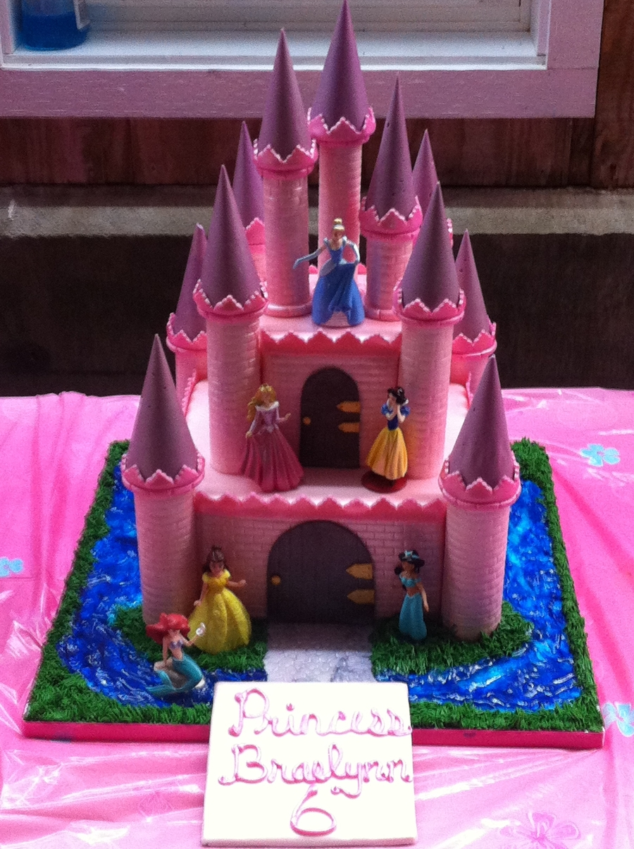 Disney Princess Castle on Cake Central