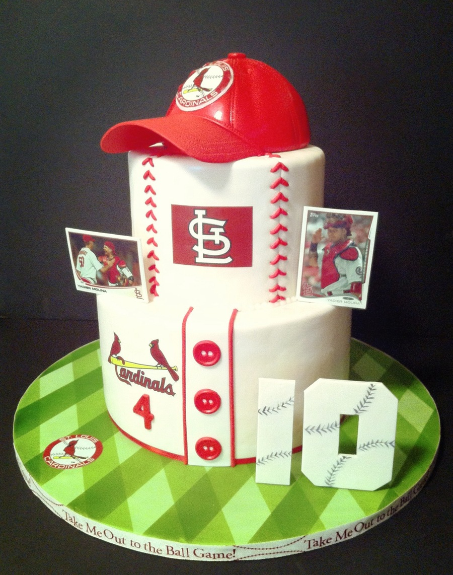 Cardinal Nation on Cake Central