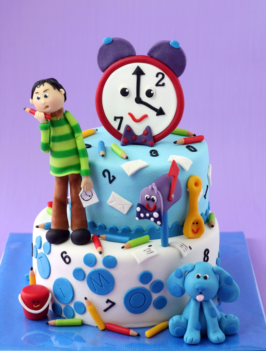 Blues Clues on Cake Central