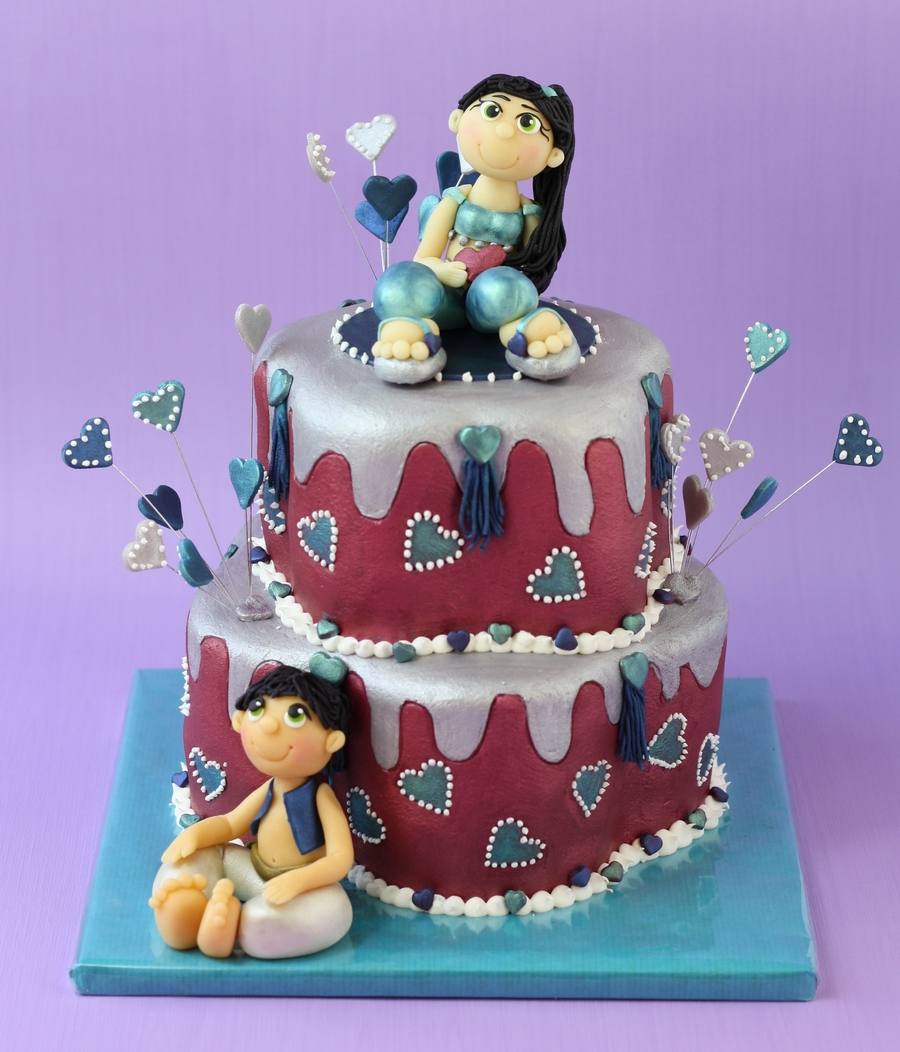Aladin And Yasmine on Cake Central