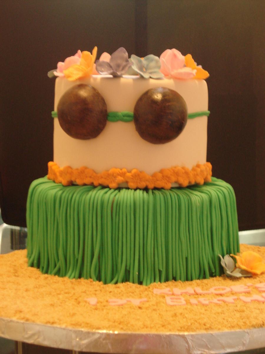 Hula Girl Cake Cakecentral Com