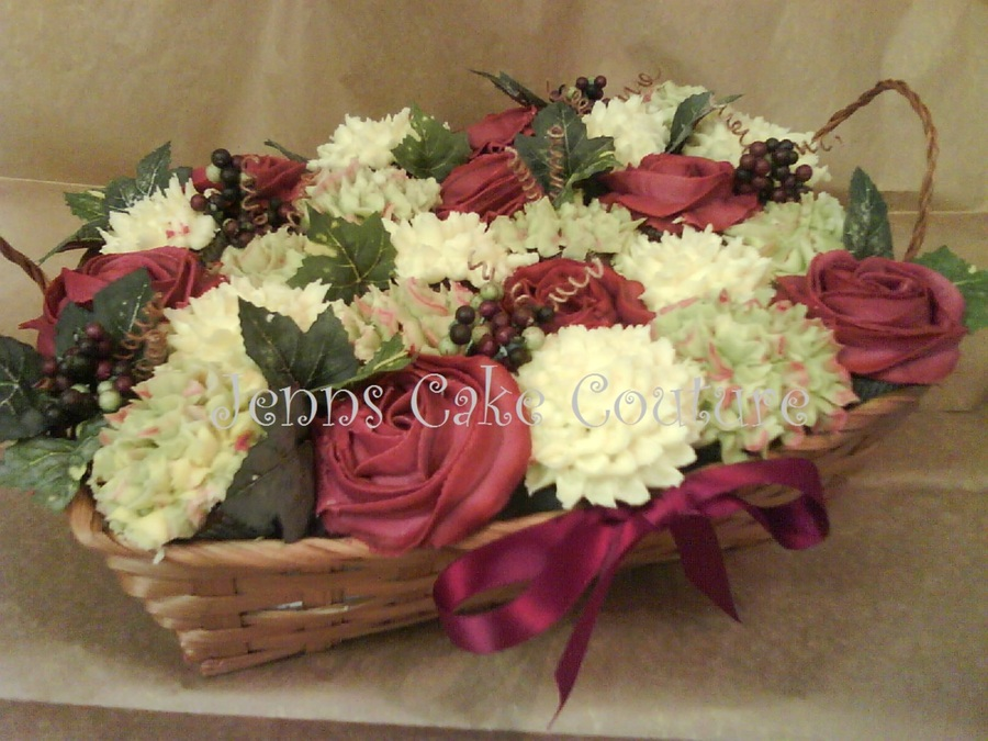 Vineyard Bouquet on Cake Central