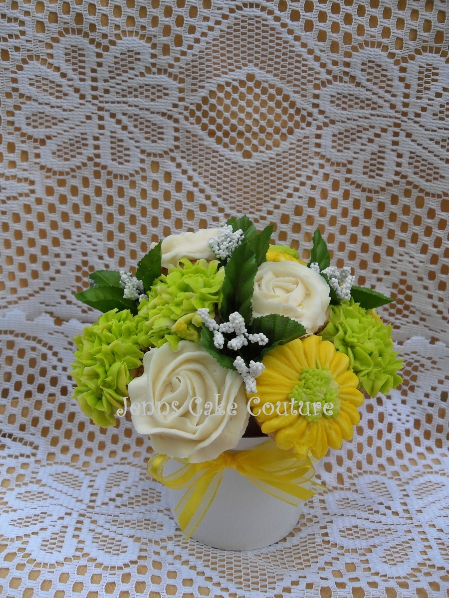Spring Bouquet  on Cake Central