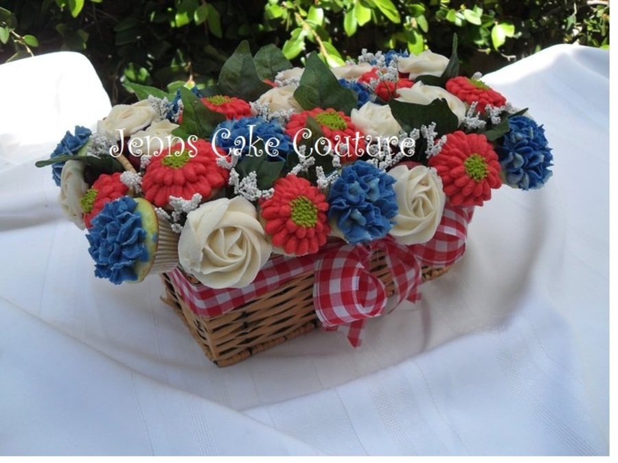 Memorial Bouquet  on Cake Central