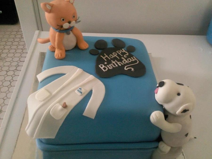 Vet Birthday Cake