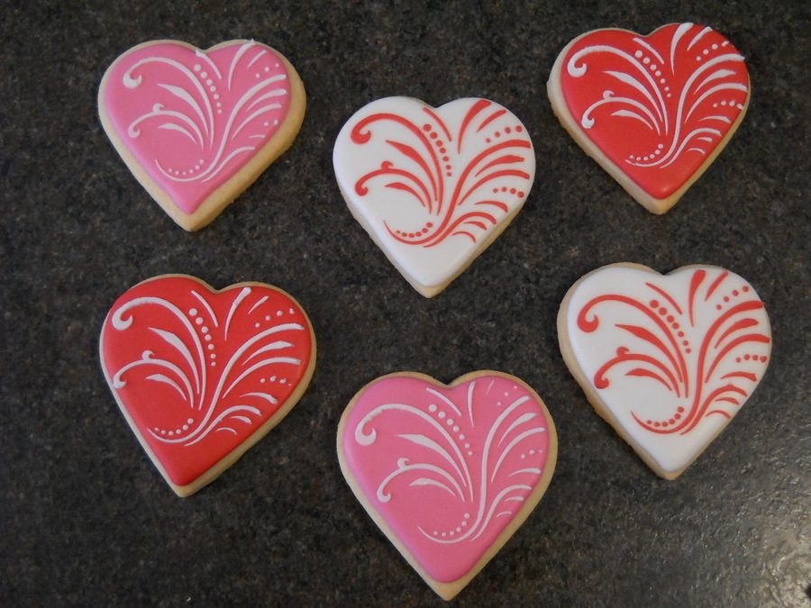 Valentine's Day Cookies on Cake Central