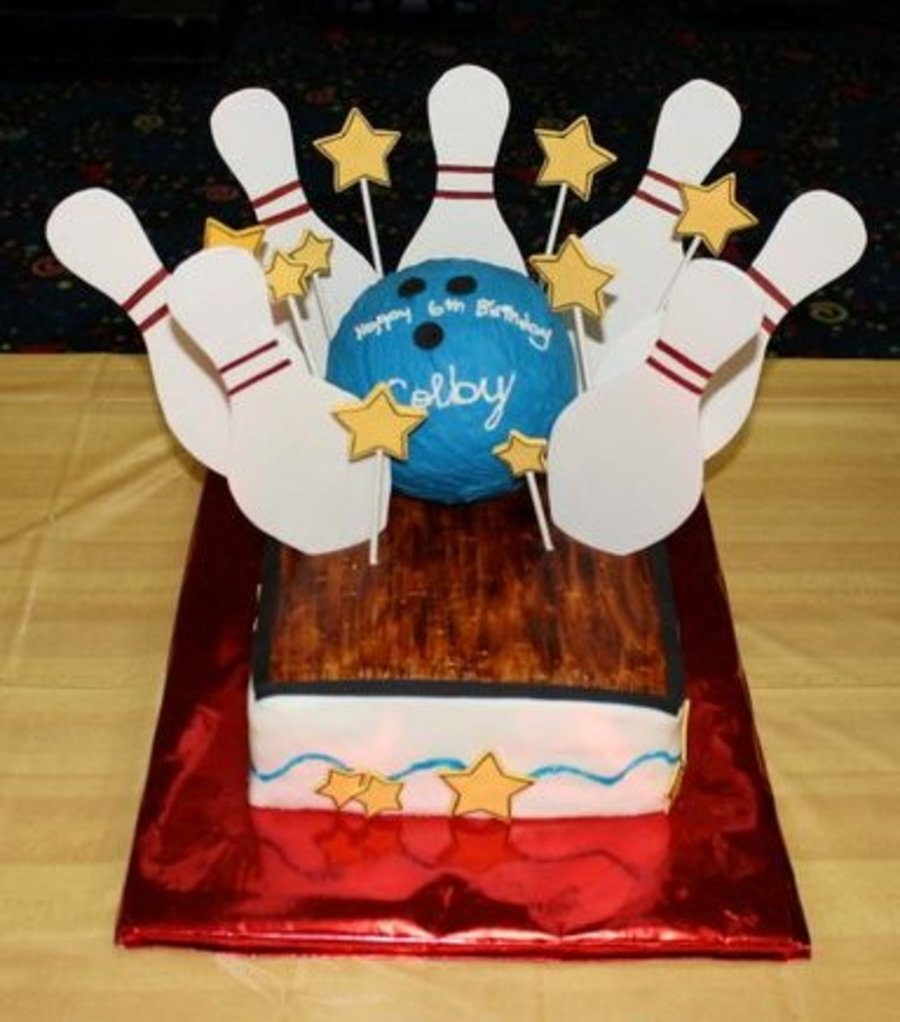 Who's Ready For Some Bowling? on Cake Central