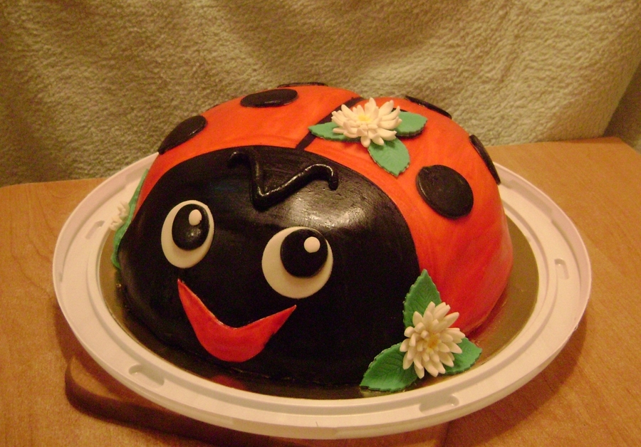 Ladybird on Cake Central