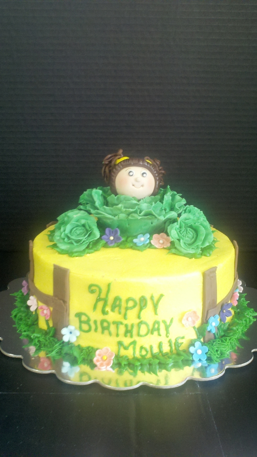 Cabbage Patch on Cake Central