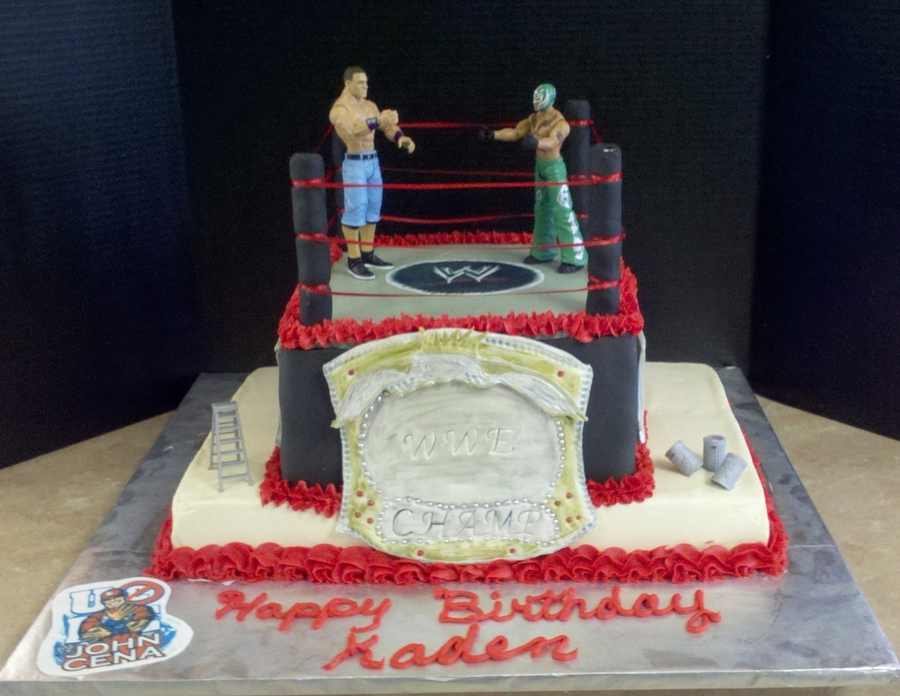 Wwe Wrestling on Cake Central