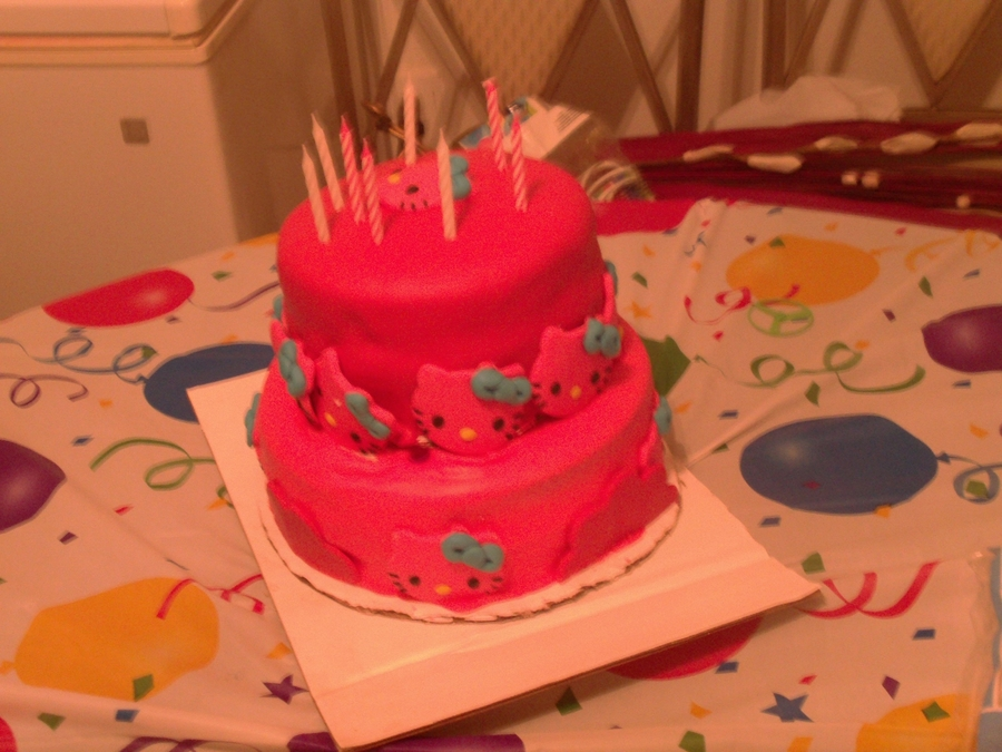B-Day Cake For My Niece on Cake Central