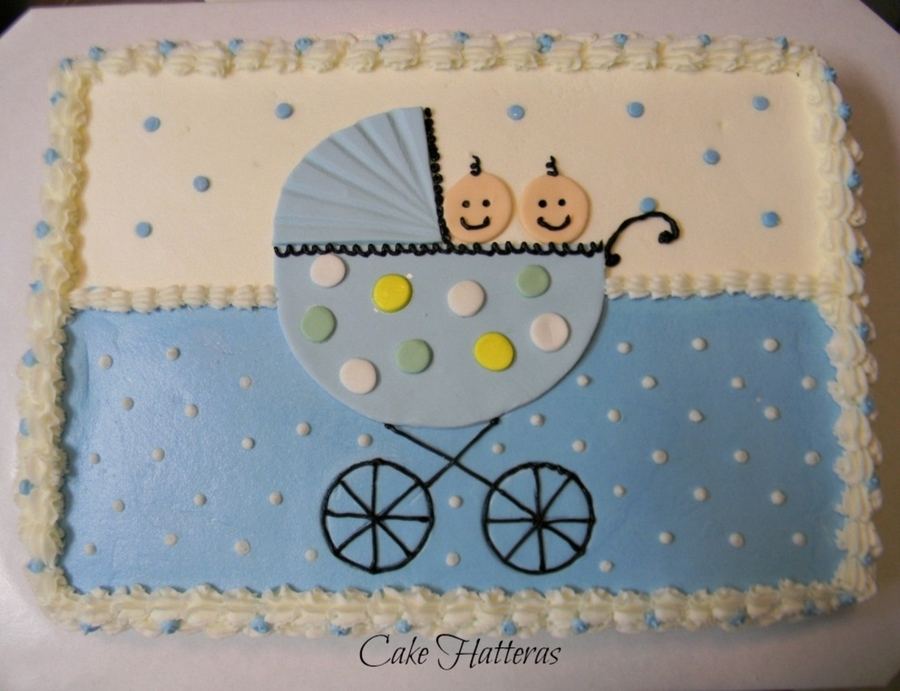Twin Boy Baby Shower on Cake Central