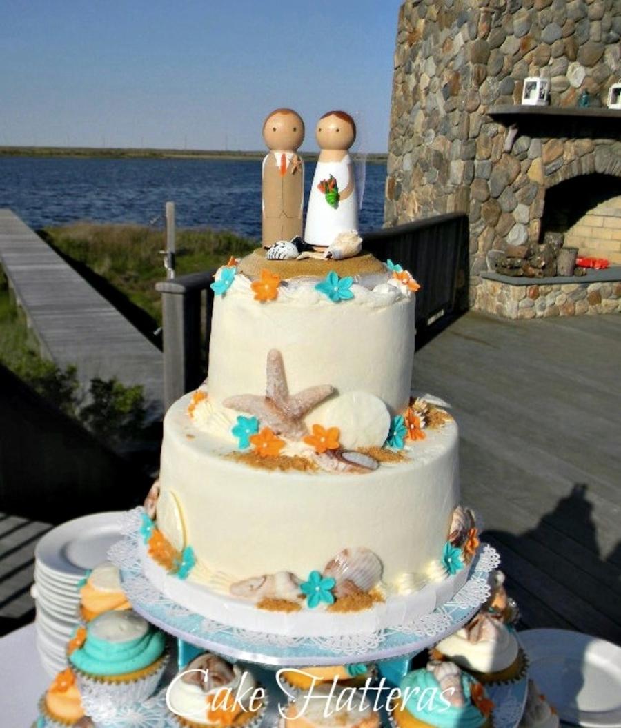Chocolate Marbled Wedding Cake