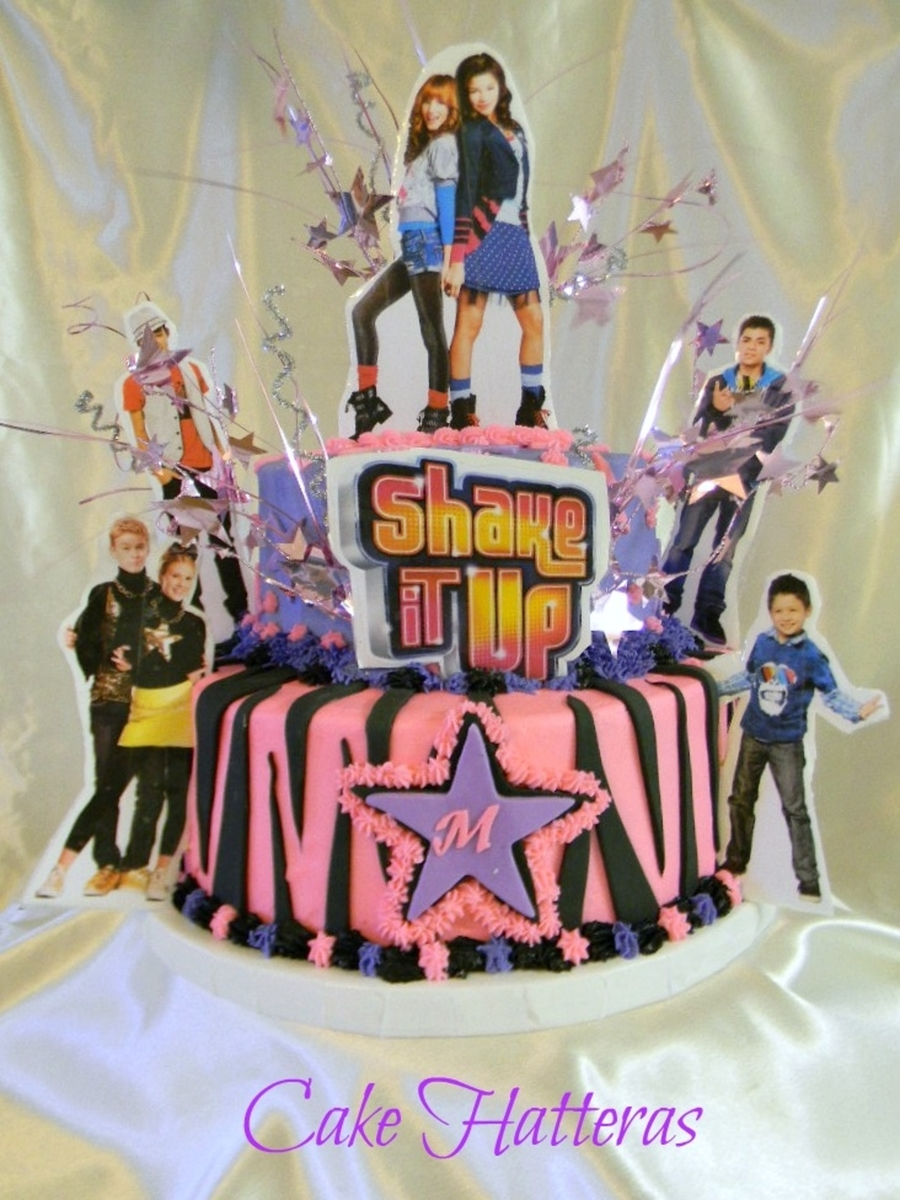 Shake It Up For A 7Th Birthday. on Cake Central