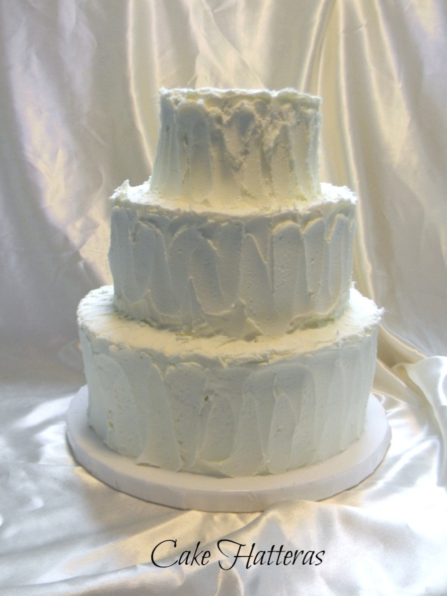 Rustic Iced Cake on Cake Central