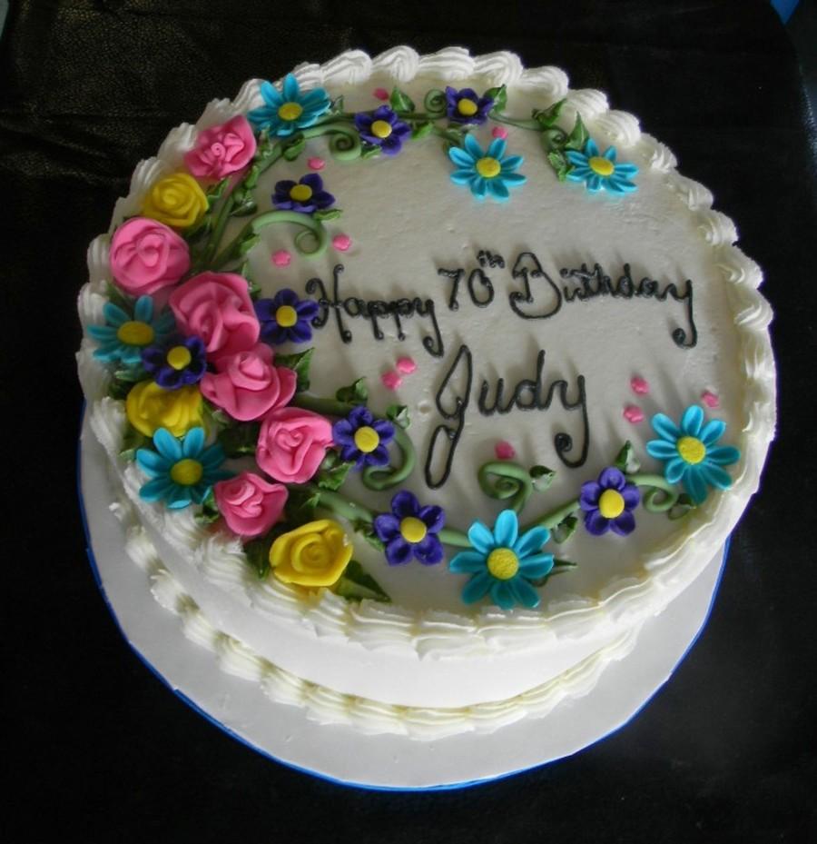 Birthday Cake Judith