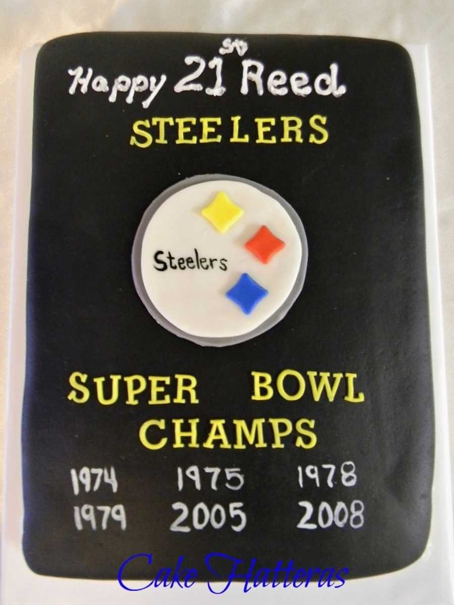 Pittsburgh Steelers, Super Bowl Champs  on Cake Central
