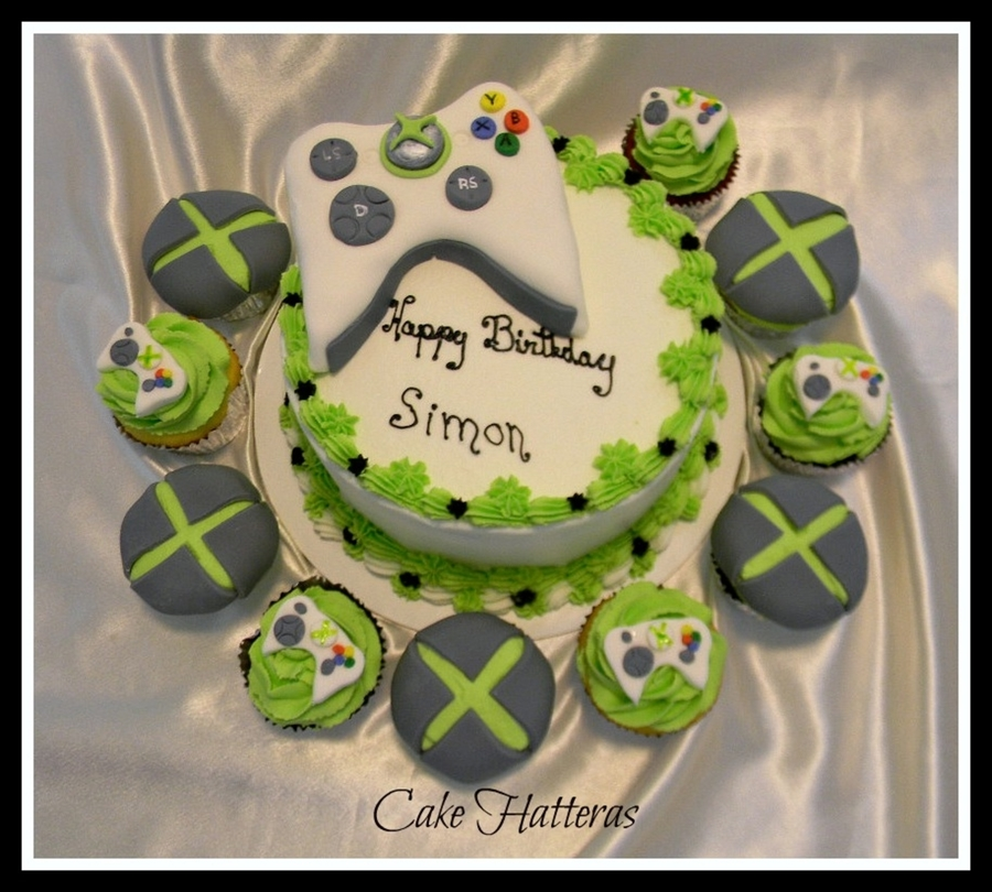 Xbox 360 Cake And Cupcakes Cakecentral