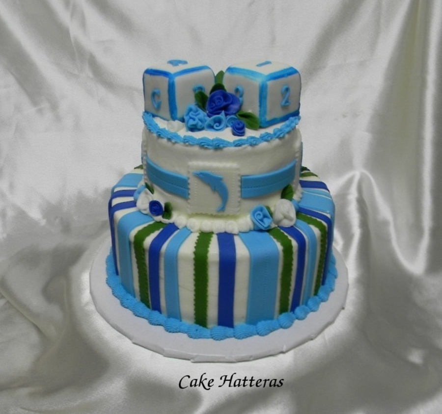 Nautical Baby Shower on Cake Central