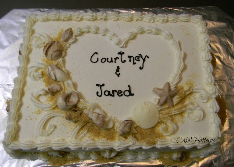 Courtney And Jared on Cake Central