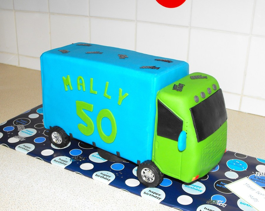 Truck Cake on Cake Central