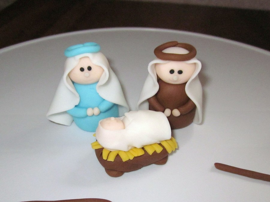 Nativity Figures on Cake Central