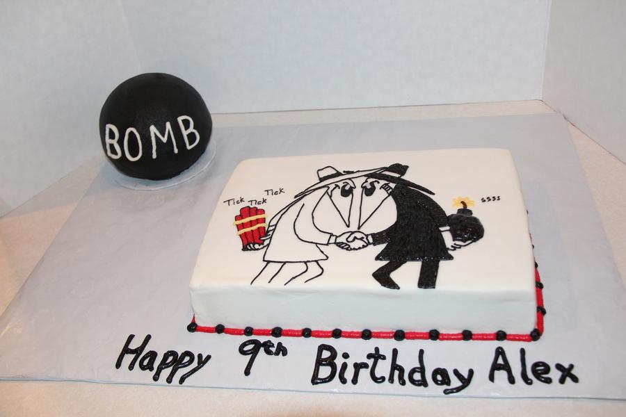 Stupendous Spy Vs Spy Birthday Cake Cakecentral Com Birthday Cards Printable Giouspongecafe Filternl