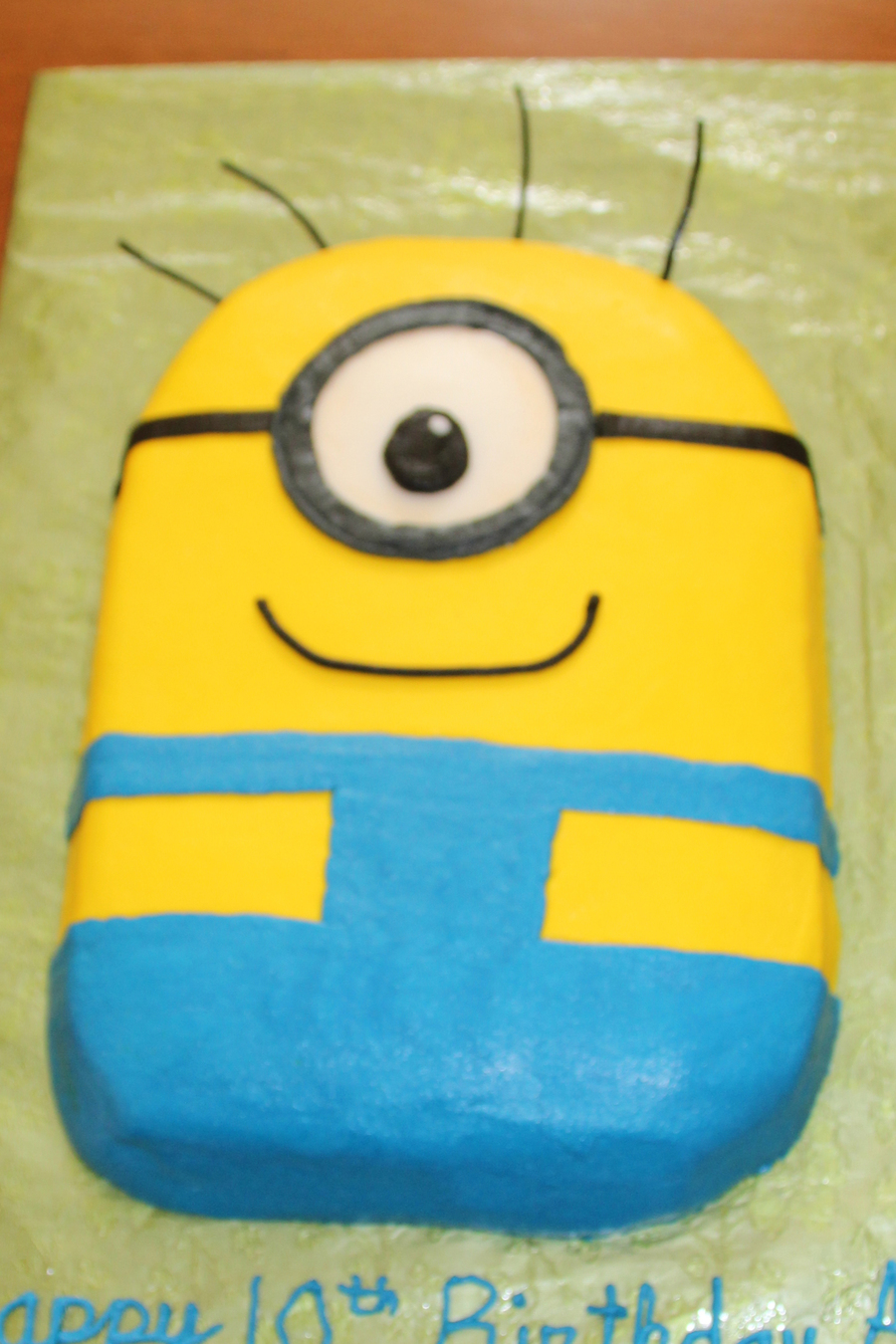 Despicable Me Birthday Cake Recipe