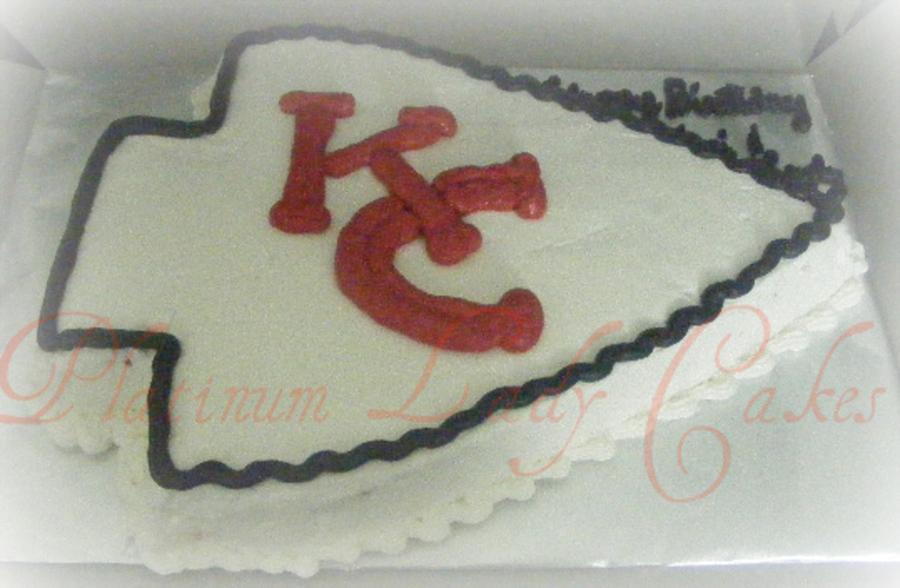 Amazing Chiefs Arrowhead Cakecentral Com Funny Birthday Cards Online Elaedamsfinfo