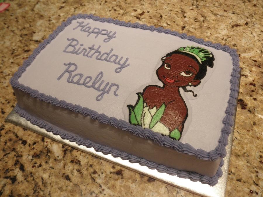 Awe Inspiring Tiana Birthday Cake Cakecentral Com Personalised Birthday Cards Veneteletsinfo