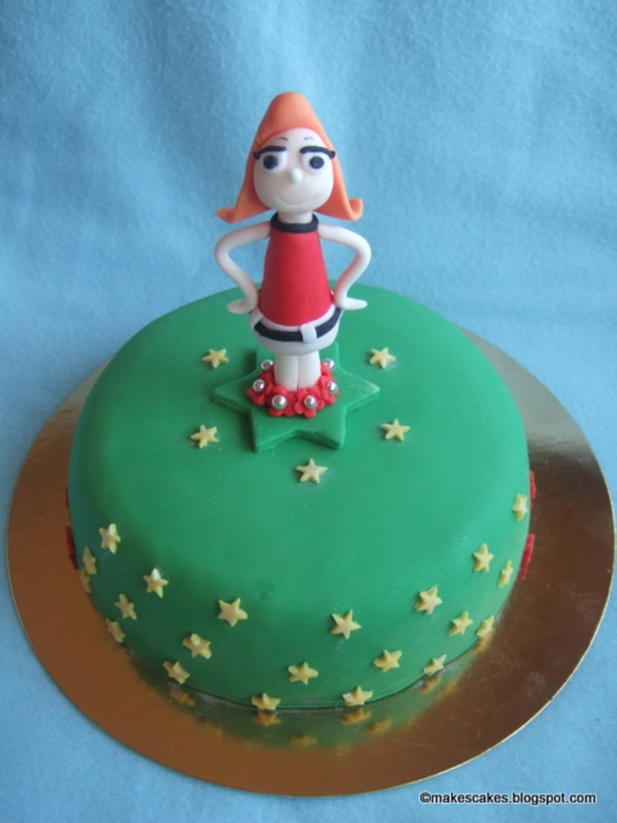 Fretka Flynn (Phineas And Ferb) on Cake Central