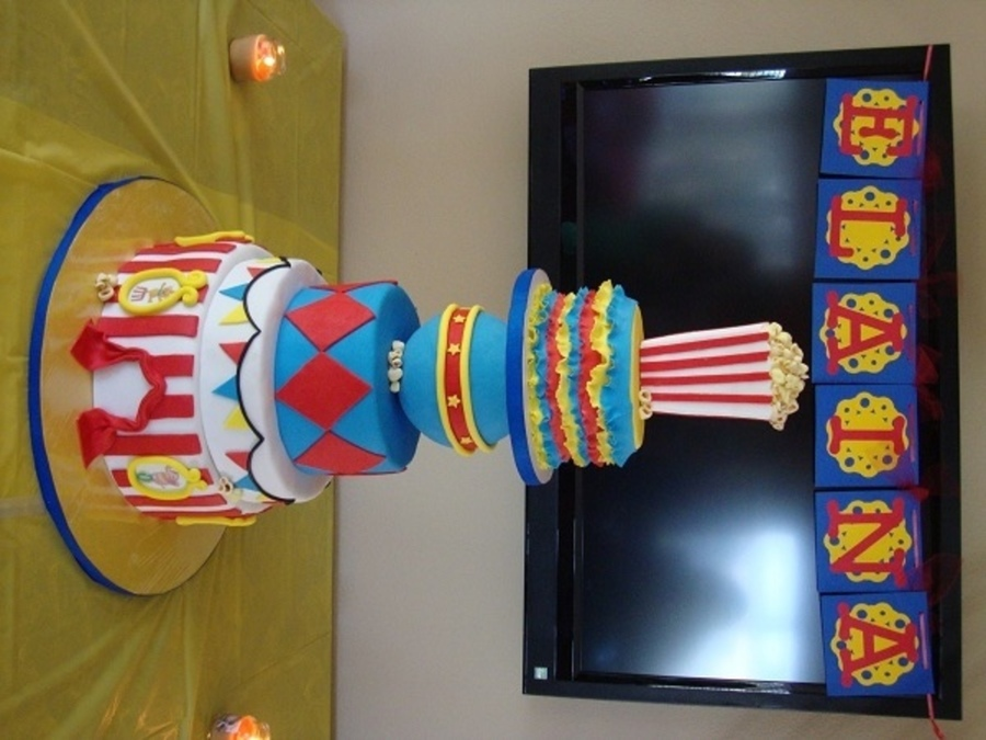 Circus Baby Shower on Cake Central