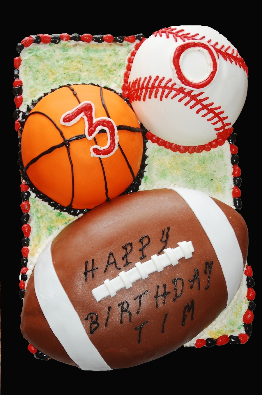 Sports Cake on Cake Central