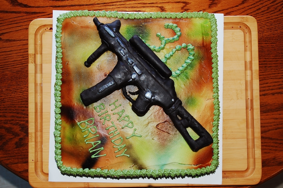 Modern Warfare 3 on Cake Central