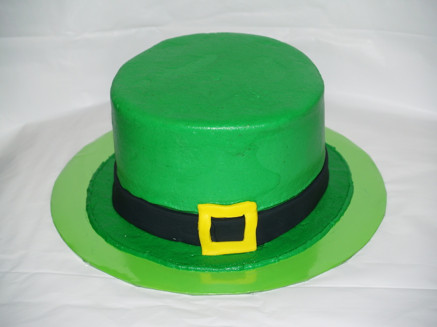 Leprechaun Hat on Cake Central