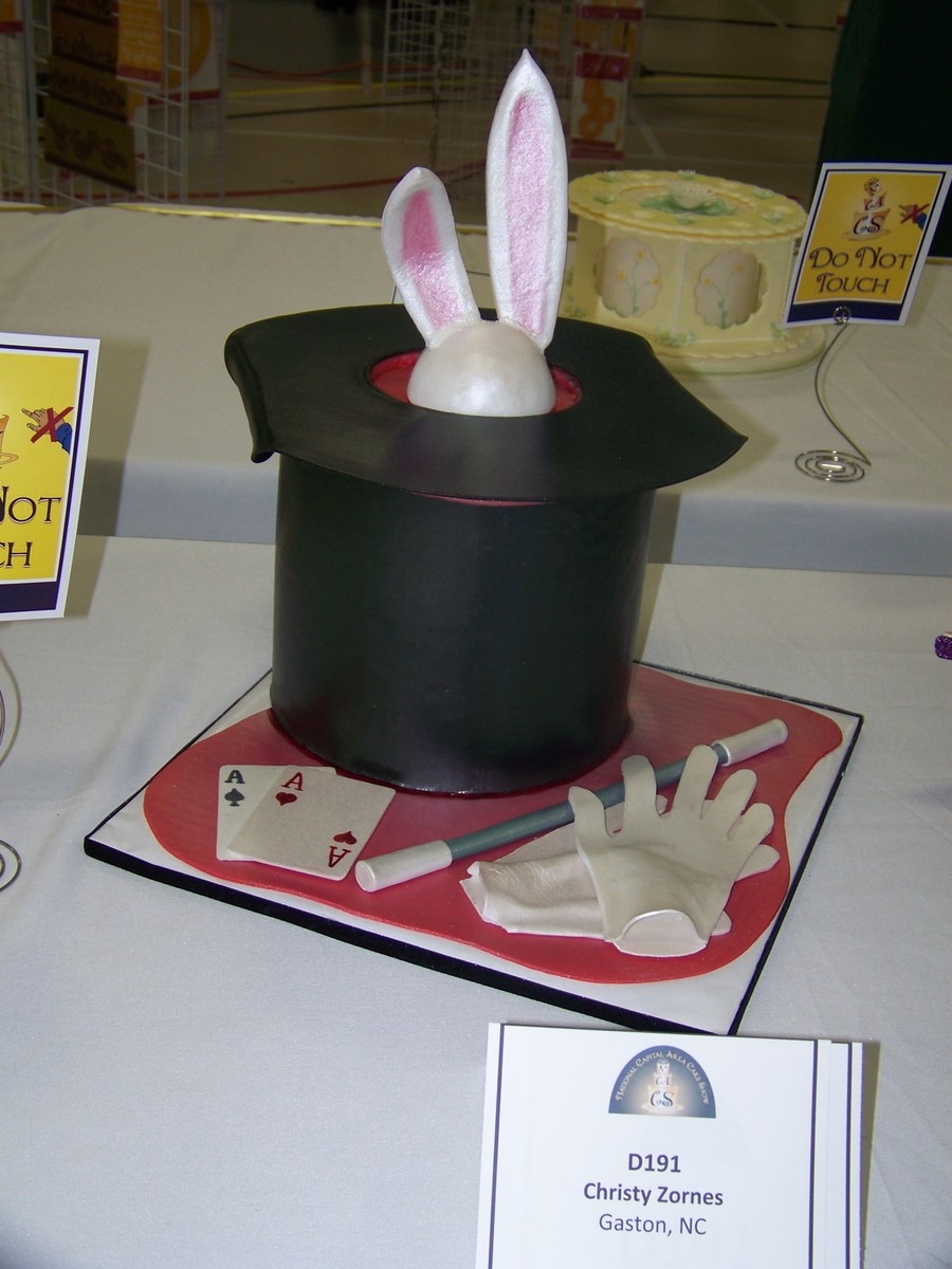 Magician's Table  on Cake Central