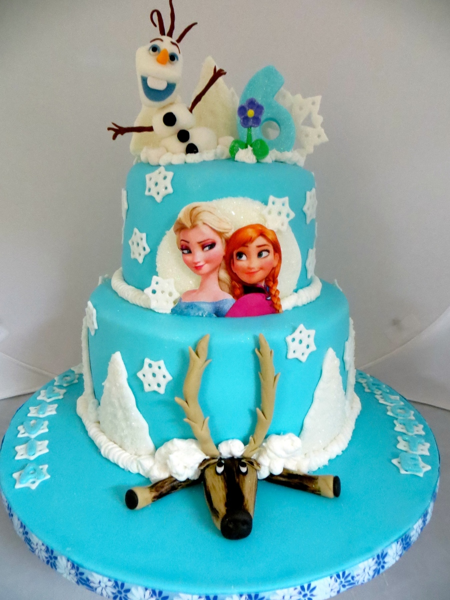 Frozen Birthday Cake Cakecentral Com