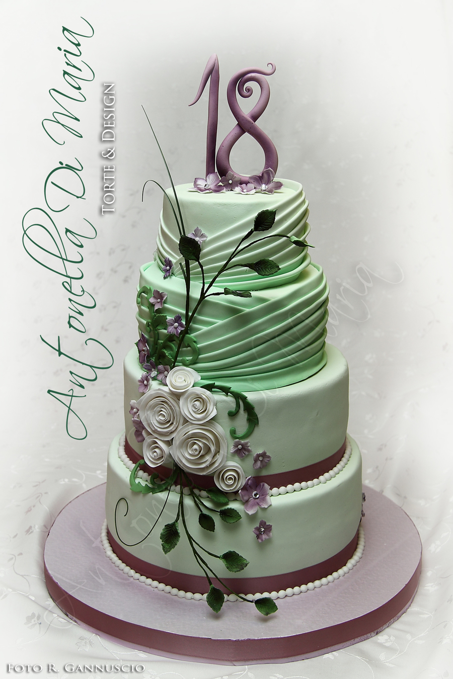 18 valeria antonella di maria torte amp design for 18th cake decoration