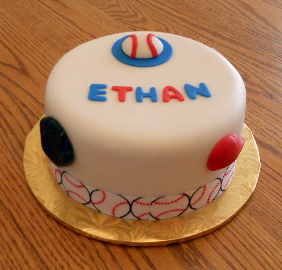 Baseball Theme on Cake Central