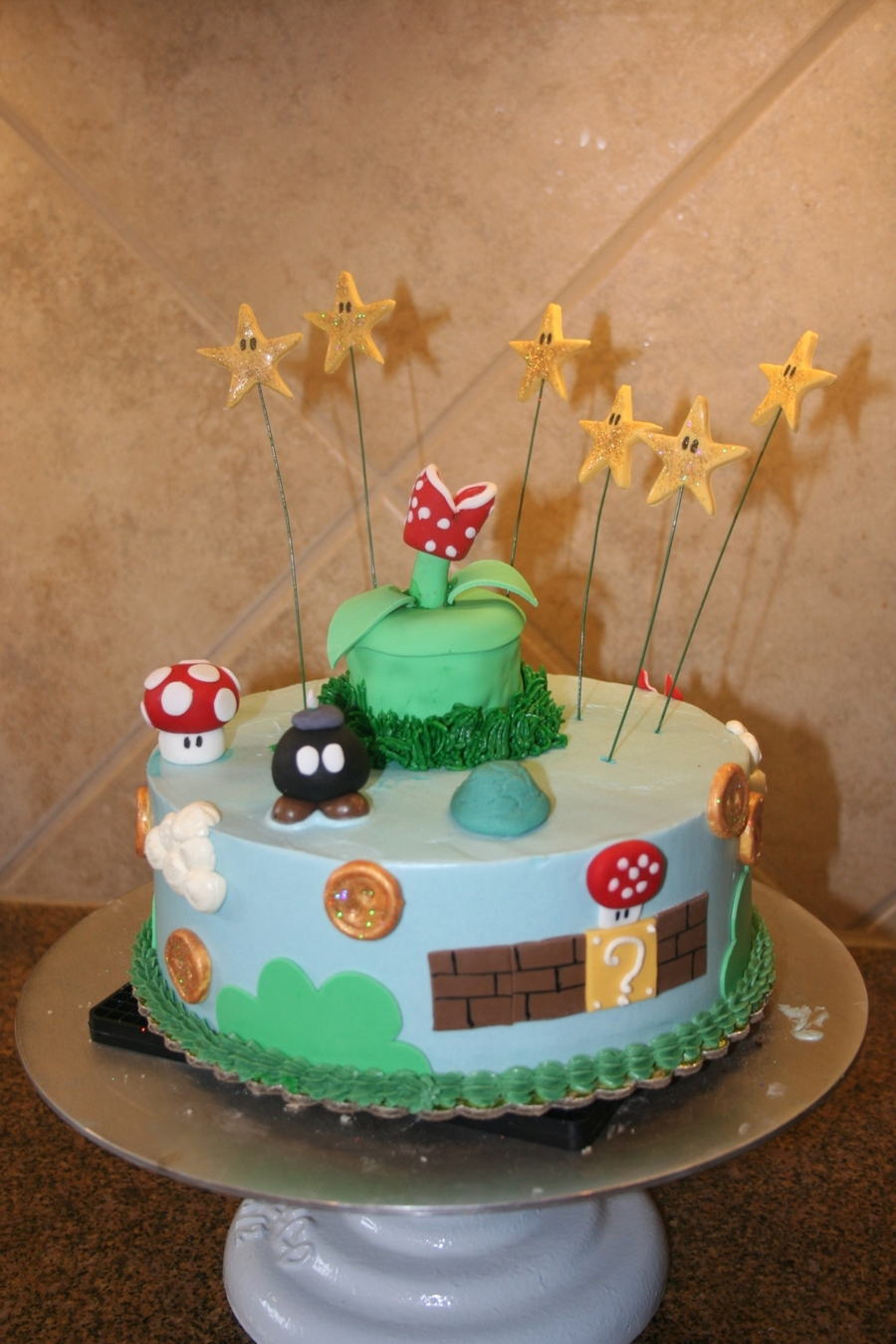 Super Mario Brothers! on Cake Central