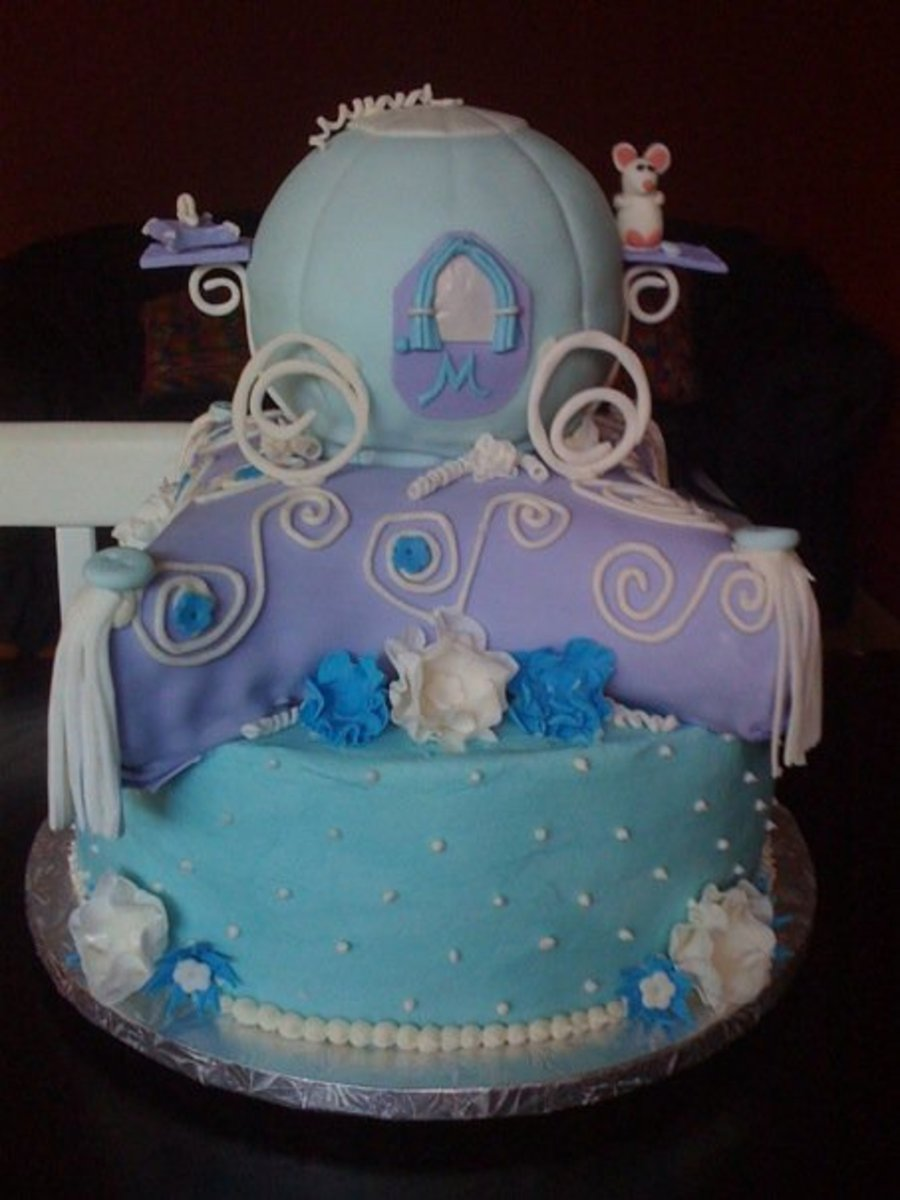 Cinderella Inspired on Cake Central