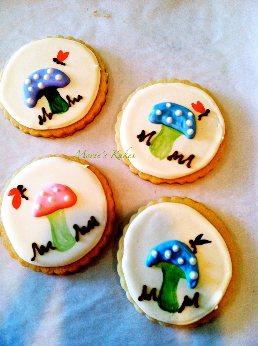 Woodland Fairy Cookie Hand Painted With Royal Icing Details on Cake Central