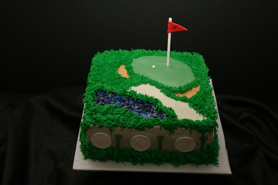 Golf Lovers Cake on Cake Central