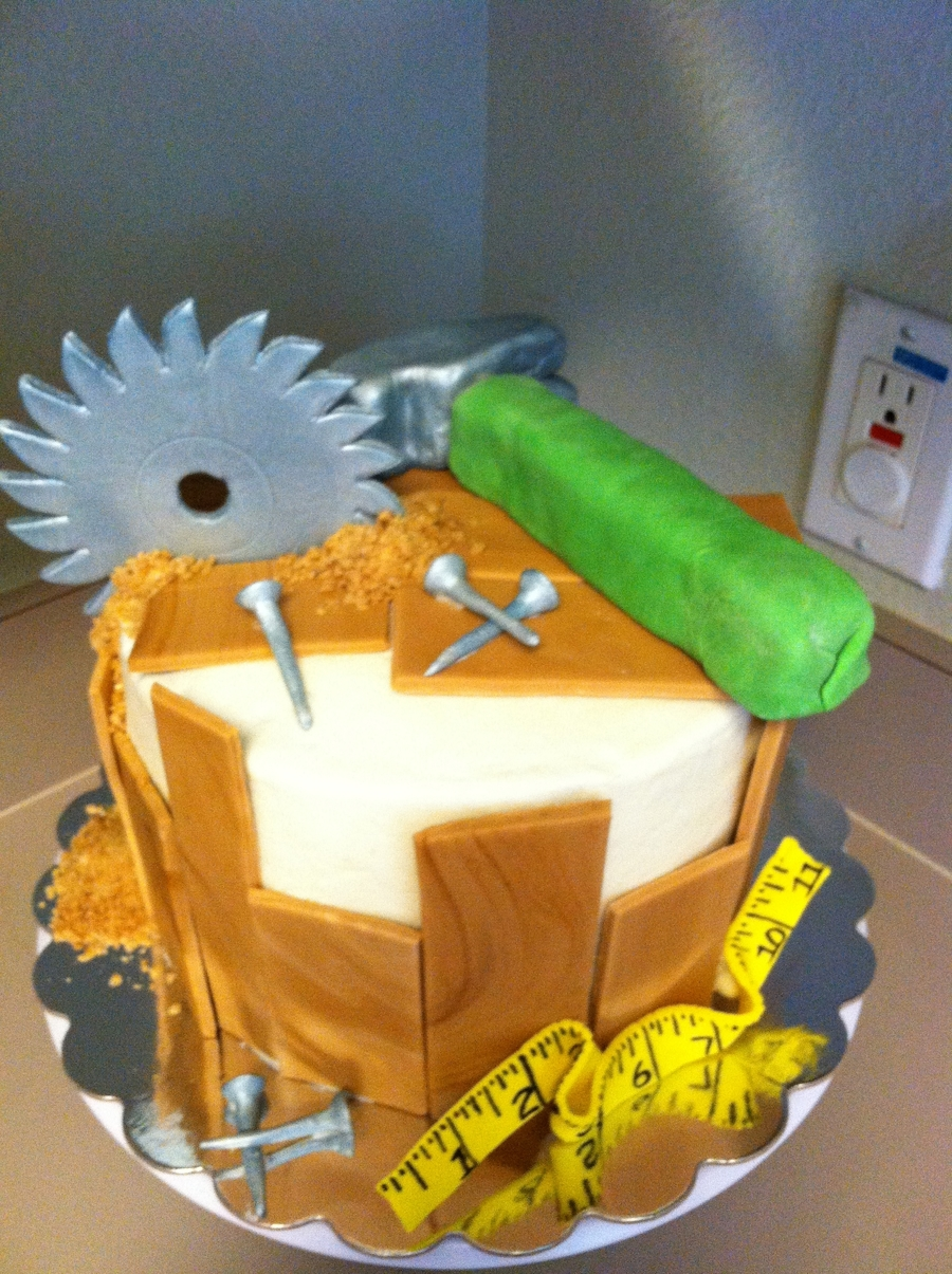 Carpentry Lovers Cake on Cake Central