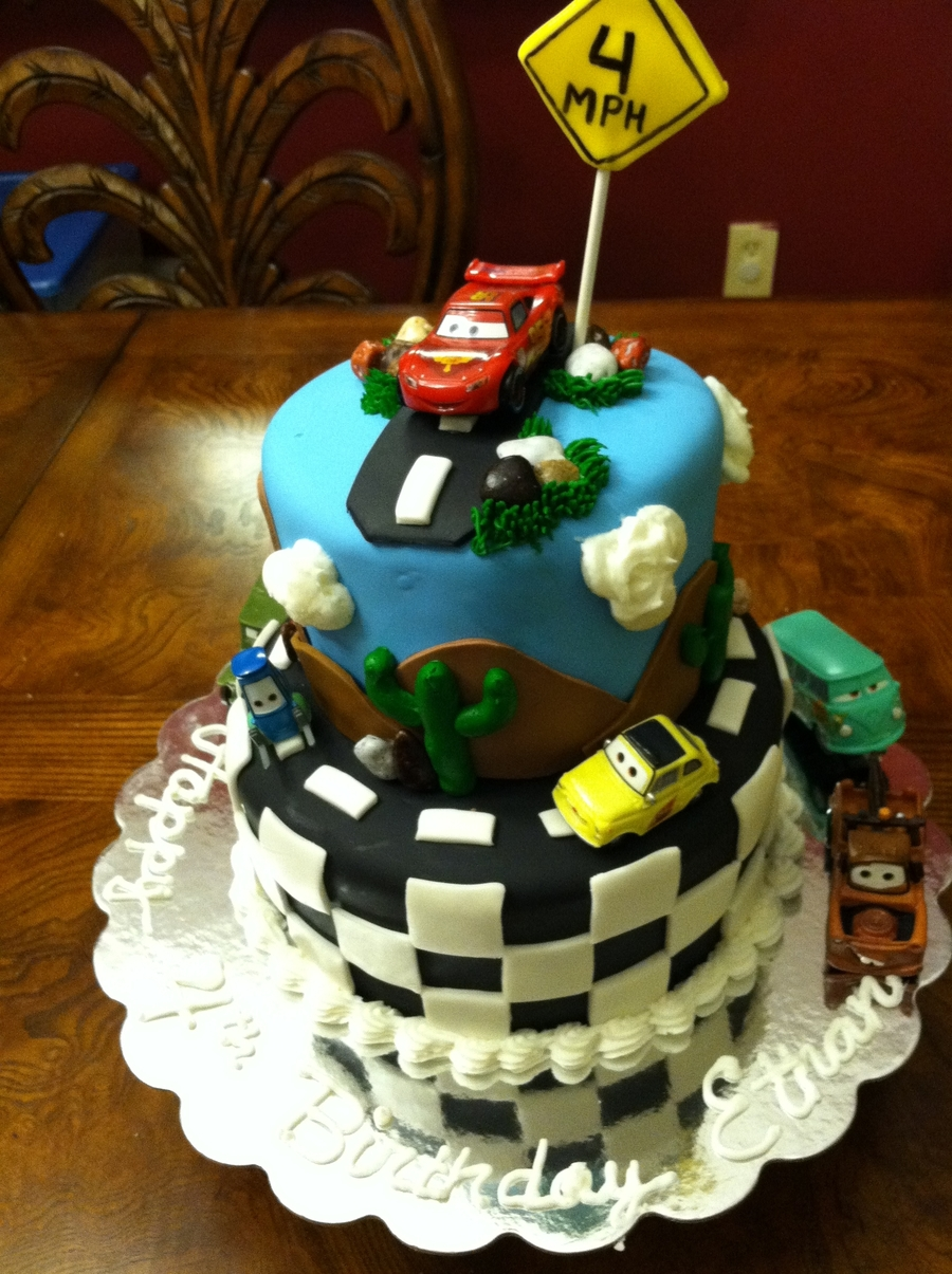 Cars...vroom Vroom on Cake Central