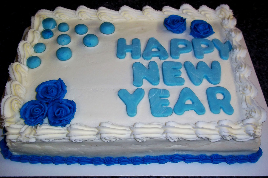 Happy New Year on Cake Central