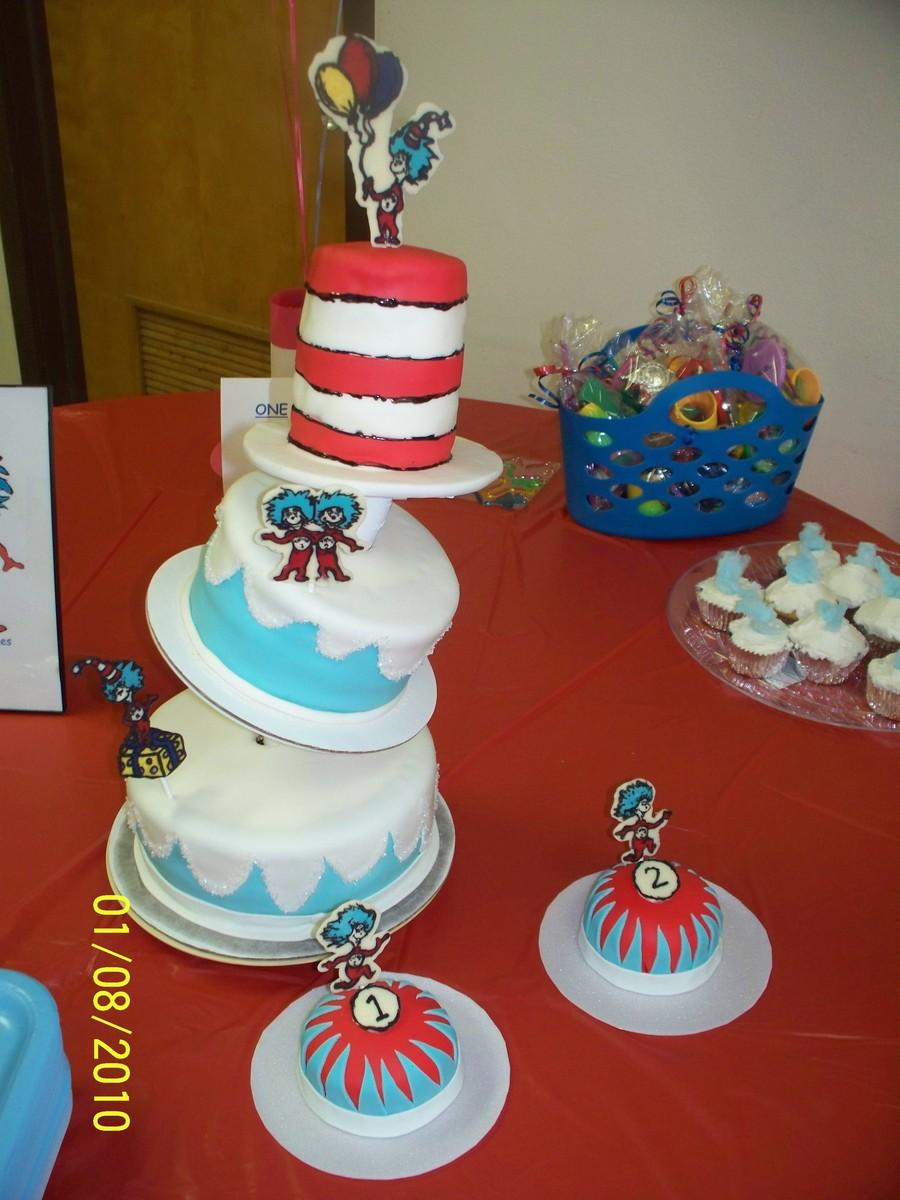 Dr Seuss Edible Cake Decorations