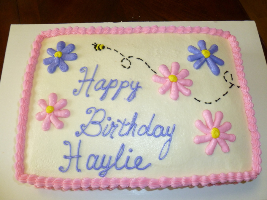 Happy Birthday Haylie Cakecentral Com