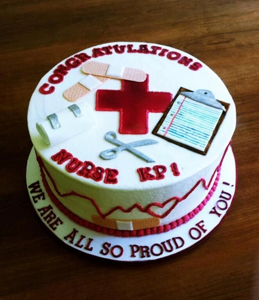 Nurse Themed on Cake Central