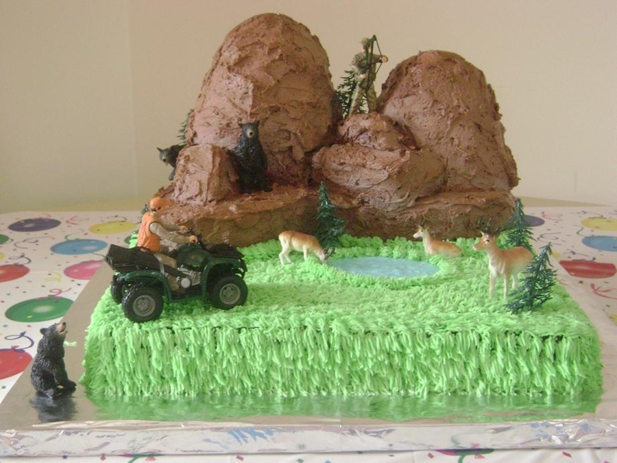 Wilderness Cake on Cake Central